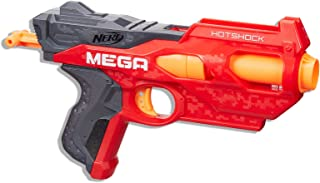 Nerf Mega - HotShock Blaster inc 2 official MEGA Darts - Kids Toys & Outdoor games - Ages 8+