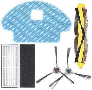 Confezione da 16 Pezzi Kit Filtro e Scopa MTKD/® Kit di Ricambio per aspirapolvere Ecovacs Deebot OZMO 900
