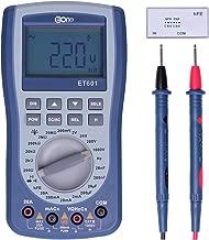 EONE Pocket Oscilloscope Multimeter 2 in 1 autoranging oscilloscope multimeter 2.0 Update 200ksps A/D Automatic Waveform Capture Function AC/DC Current and Voltage LED Multi Tester
