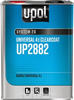 National Rule Clearcoats: 4:1 Universal Clearcoat, Clear, 8lbs