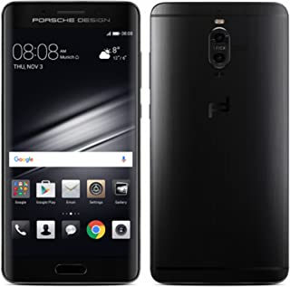 Porsche Design Huawei Mate 9 Luxury Edition 256GB LON-L29 Dual SIM (GSM Only, No CDMA) Factory Unlocked 4G/LTE Smartphone (Graphite Black) - International Version with No Warranty
