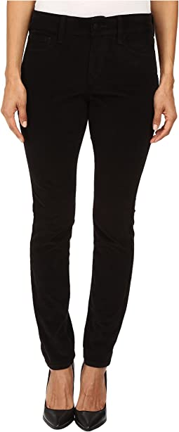 Petite Alina Leggings Jeans in Corduroy in Black