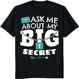 Ask My Big Secret. Coming Big Brother Shirt 2 Sides Funny