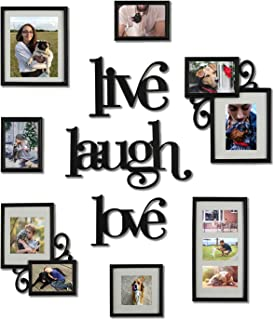 live laugh love picture frame collage