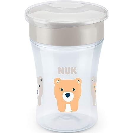 NUK Magic - Taza antiderrame (230 ml), transparente