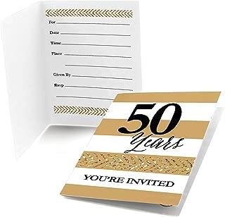 We Still Do - 50th Wedding Anniversary - Fill in Anniversary Party Invitations - Set of 24