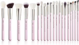 Jessup Professionele Make-up Borstel Set, Zachte Natuurlijke Varkenshaar Foundation Oogschaduw Blending Blusher Buffer Con...