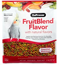 FruitBlend With Natural Fruit Flavors for Medium Birds