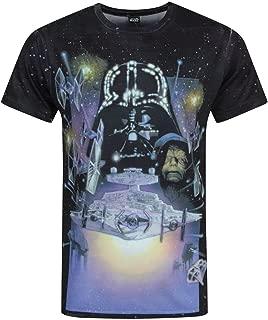 Star Wars Empire Strikes Back Sublimation Men's T-Shirt