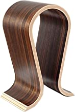 Ogrmar Wood Headphone Stand Arch Holder(Walnut Finish) 10