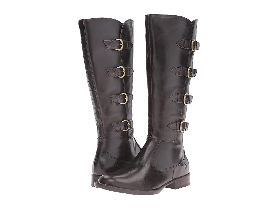 Born Cuatros (Mushroom/Dark Brown Full Grain Leather) Women