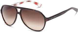 Dolce & Gabbana - Gafas de sol DG 4182P 271813 Top Habana en rayas 52MM