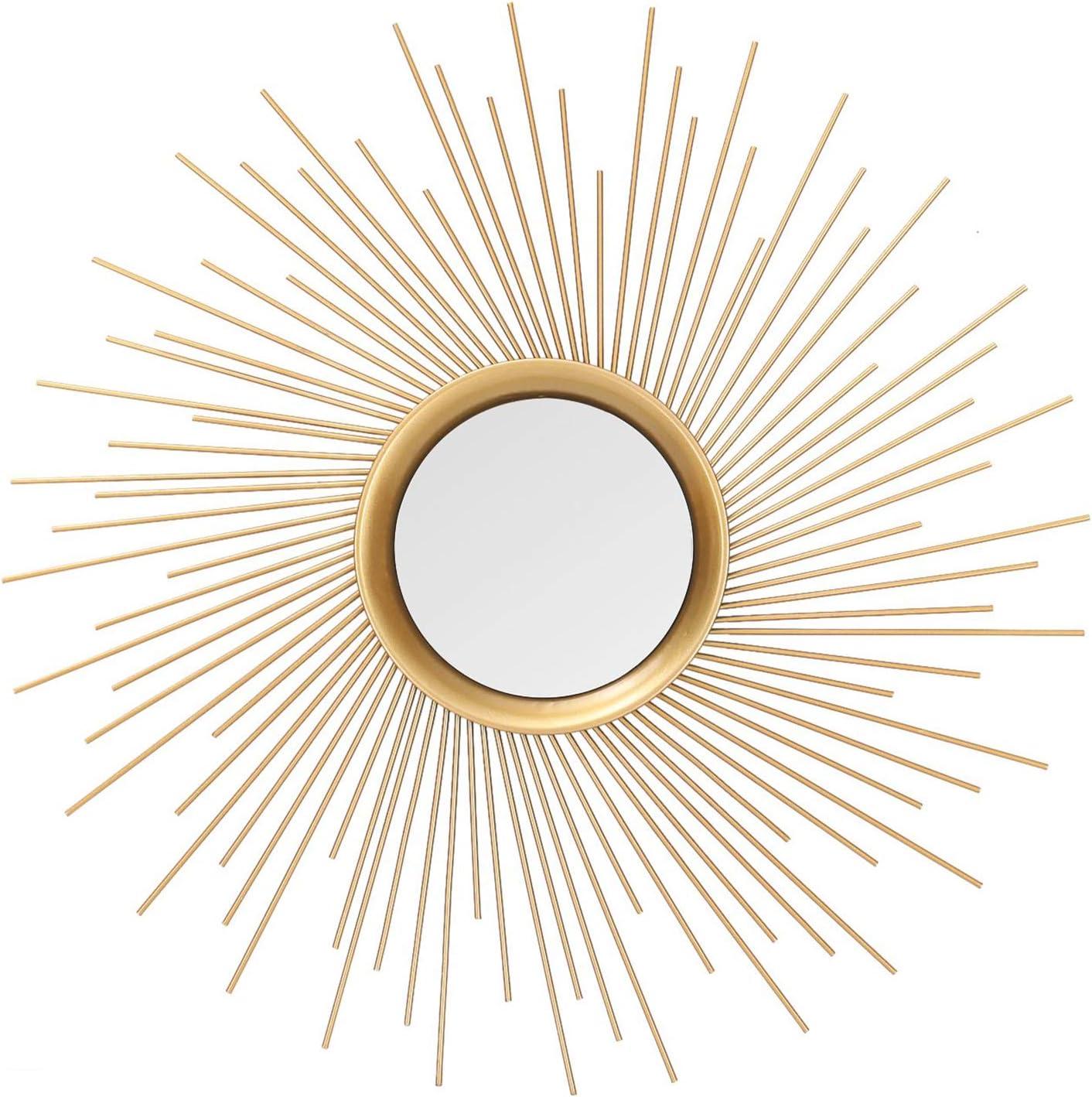 Asense Home Collection Sunburst Classic Mirror Japan's largest assortment Decorative Metal Price reduction