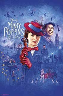 Trends International Mary Poppins Returns-Sketch Wall Poster, 22.375