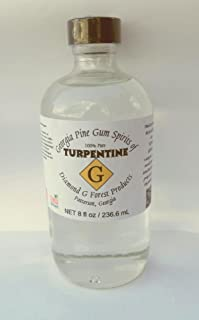 8 oz. 100% Pure Gum Spirits of Turpentine