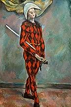 Cezanne Harlequin Cubicle Locker Mini Art Poster 8x12