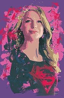 supergirl pop art