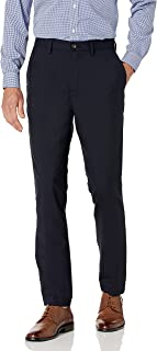 Buttoned Down mens Slim Fit Stretch Wool Dress Pant