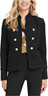 DKNY Womens Winter Cold Weather Military Jacket