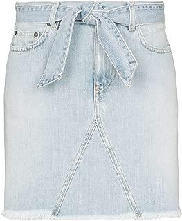 GIVENCHY Luxury Fashion Womens BW40DA50DH452 Light Blue Skirt |