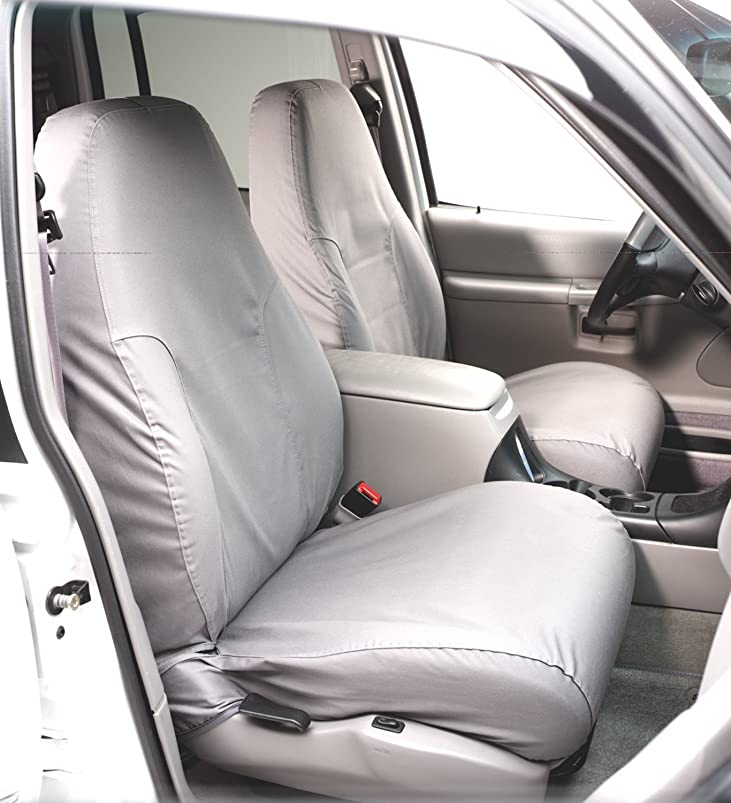 Covercraft SS2412PCGY Gray Bucket Seat Cover for Ford F150 '09 vcgszeet091347