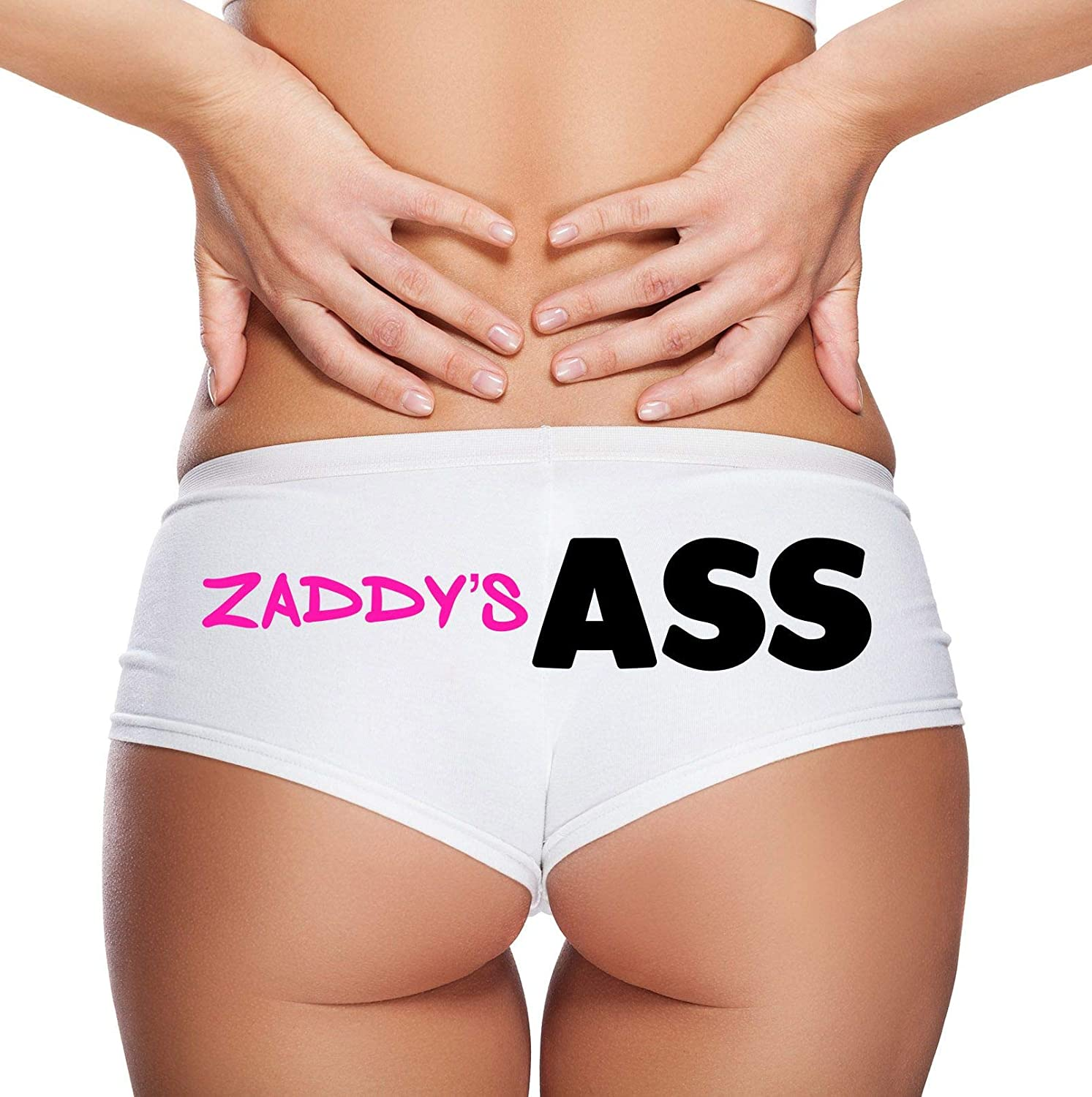 Zaddys Ass Novelty Hipster Panties for Women