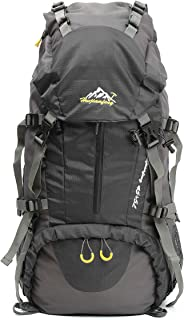 OUTERDO 50L Professional Adult Backpack backpack travel backpack backpack With rain cover for outdoor camping trips Climbe...