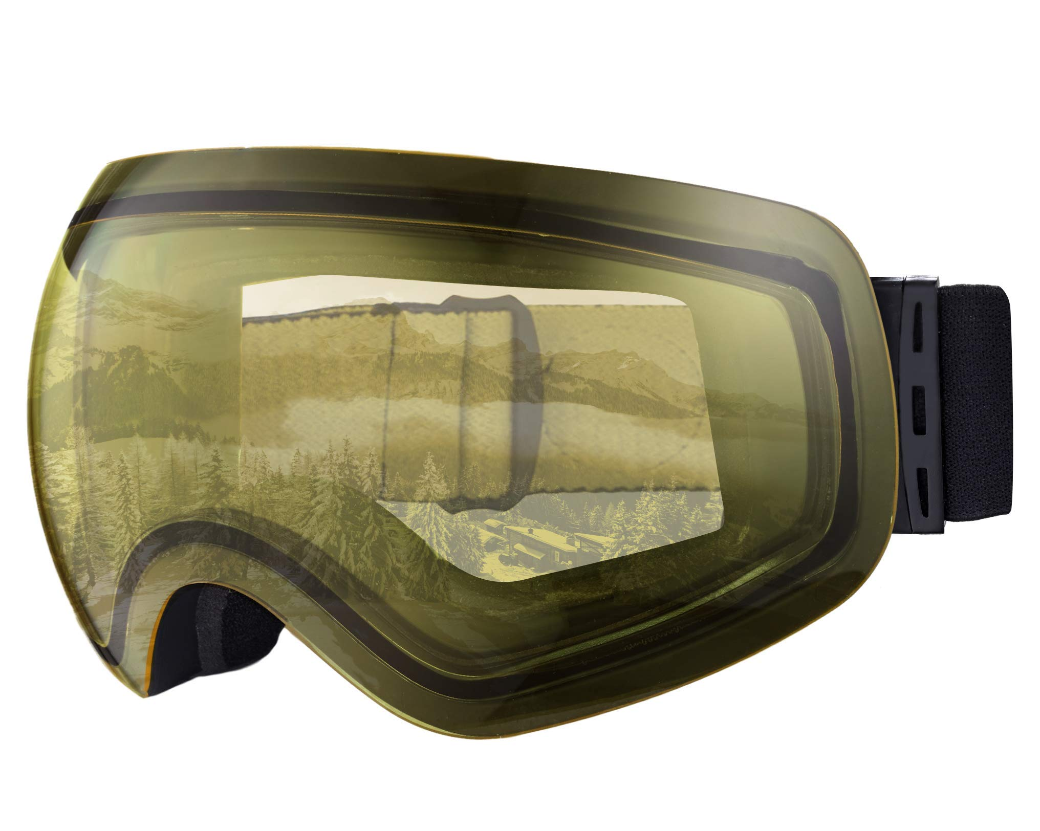 Tough Outdoors Goggles 4500 Yellow