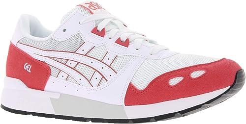 ASICS Turnschuhe Turnschuhe Coole Schuhe Gel-Lyte Freizeitschuhe Weiß Rot, Grünauswahl 37