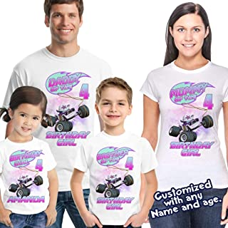 Blaze and the Monster Machines Birthday Shirt, Blaze Custom Shirt, Personalized Blaze, Blaze family shirts, Birthday t-shirts