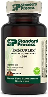 Standard Process Immuplex - Whole Food Immune Support and Antioxidant Support with Chromium, Folate, Vitami...