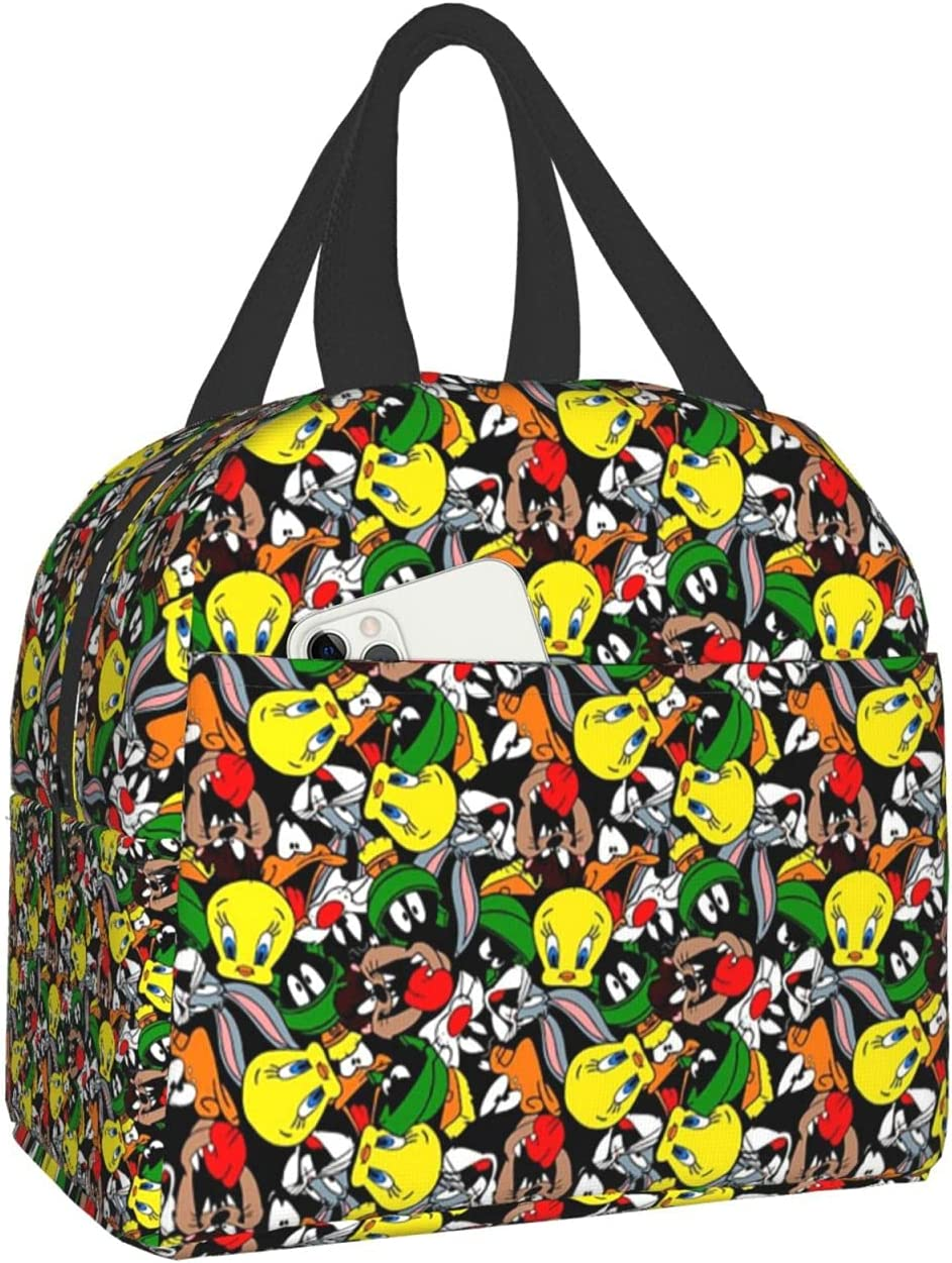 Marvin Excellent The Martian Insulated Large Box Bag Lunch Elegant Tote