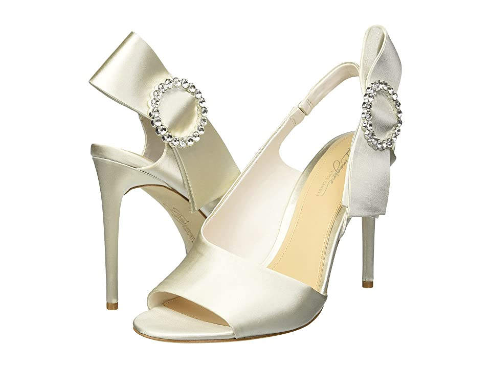 Imagine Vince Camuto Regin (Ivory Deluxe Satin) High Heels