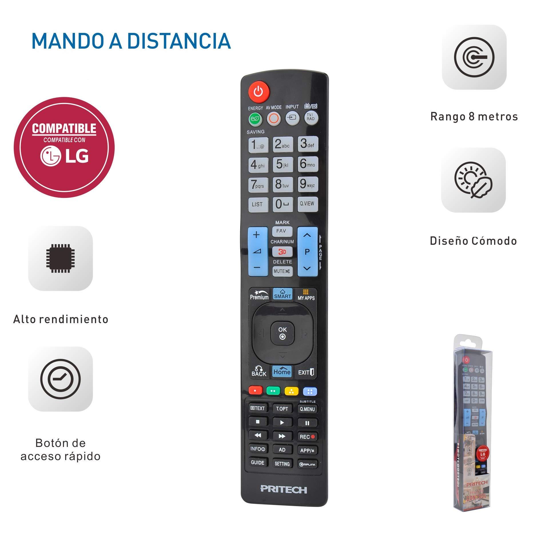 Pritech - Mando a Distancia Universal para Televisores: Amazon.es ...