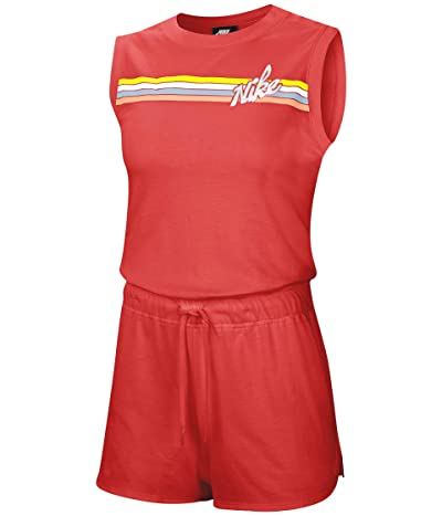 Nike NSW Print Romper Graphic (Track Red/White) Women