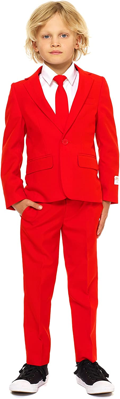 Envio gratis en todas las ordenes Generique - Traje Mr. Rojo Rojo Rojo Niño Opposuits 8-10 años(122-128cm)  Todo en alta calidad y bajo precio.