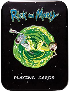 USAopoly Playing Cards: Rick & Morty in A Tin