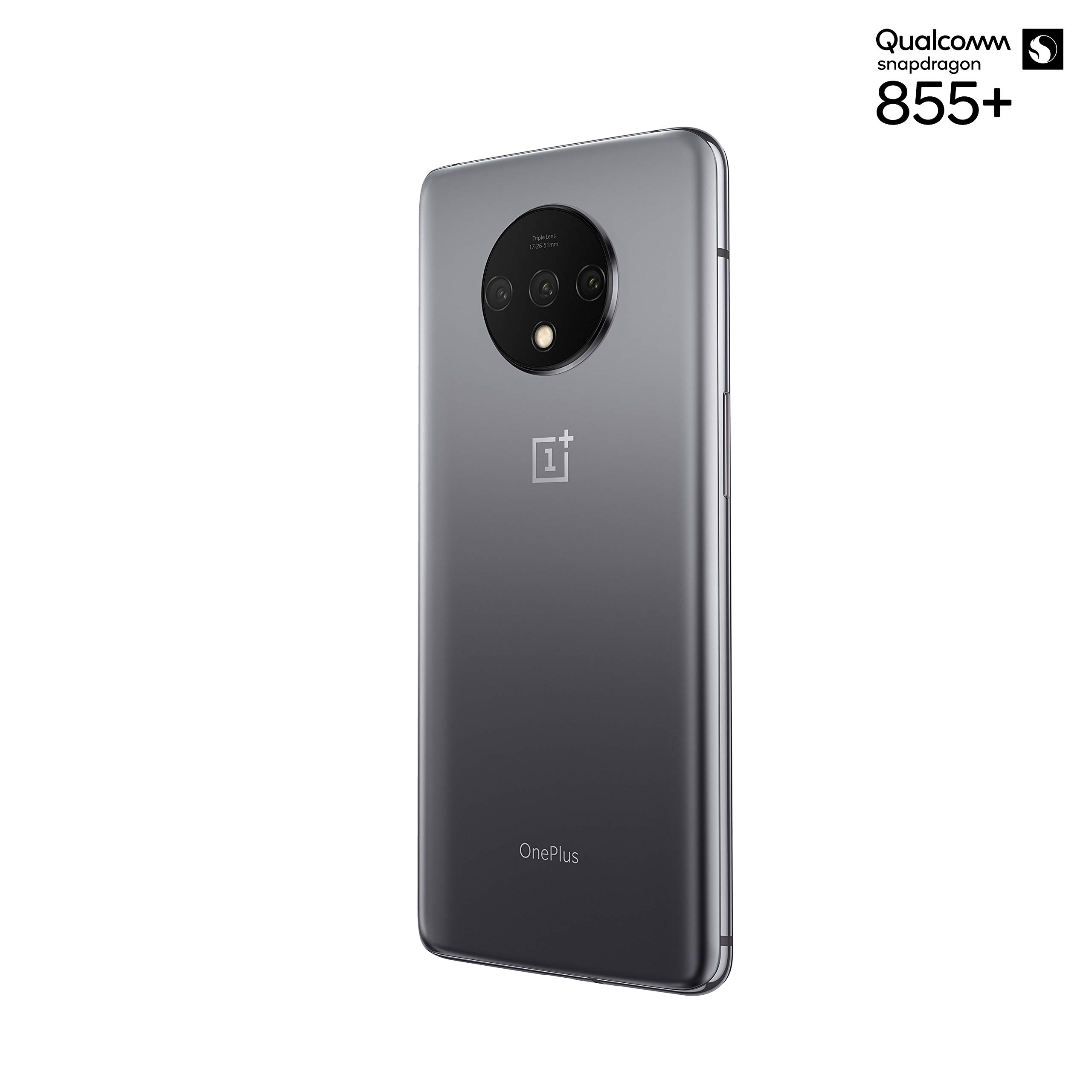 "OnePlus 7T Smartphone Frosted Silver | 6.55""/16,6 cm AMOLED ..."