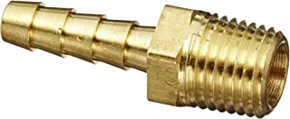 Anderson Metals 57001-0404 Brass Hose Fitting, Adapter, 1/4