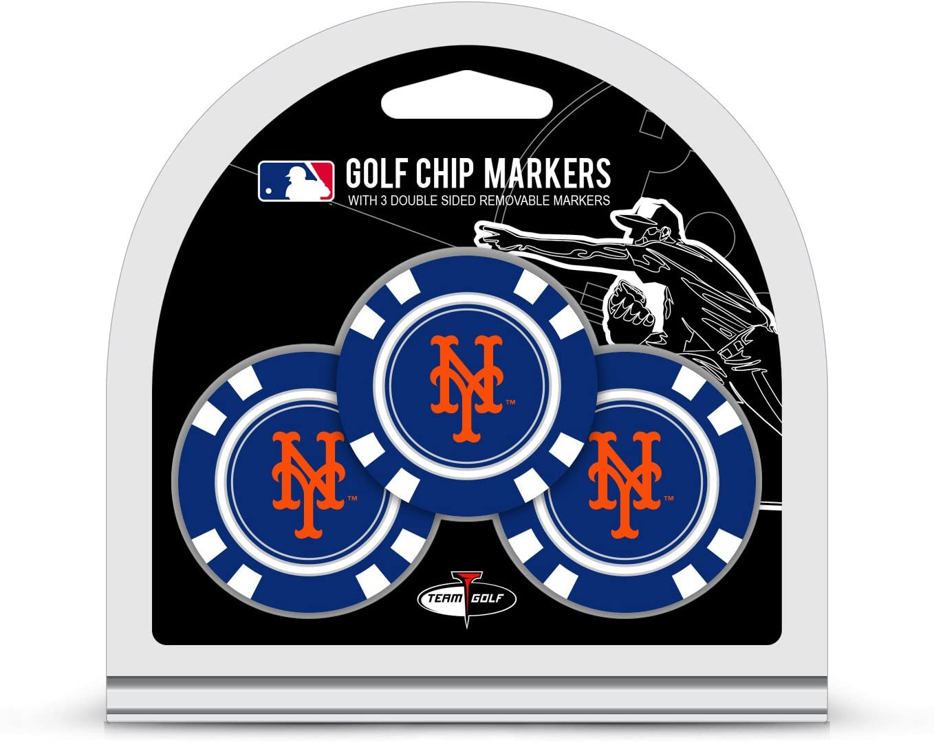 Team Super popular specialty store Golf MLB Chip Ball Size 3 Markers Count Poker Seasonal Wrap Introduction
