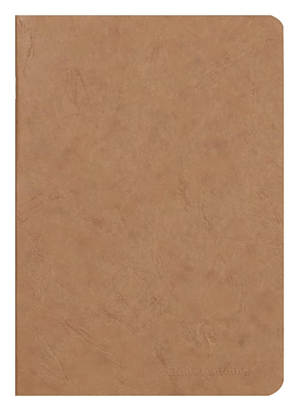 Clairefontaine 733100 °C ノートブック 内部滑らか 96ページ カラーハバナ色