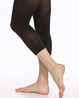Women's Microfiber Hipster Crop Tights