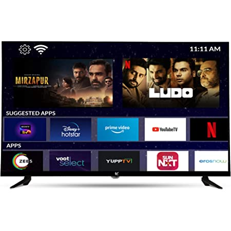 IAIR 81 cm (32 Inches) HD Ready Smart LED TV IR32SHD Frameless (Black) (2020 Model)