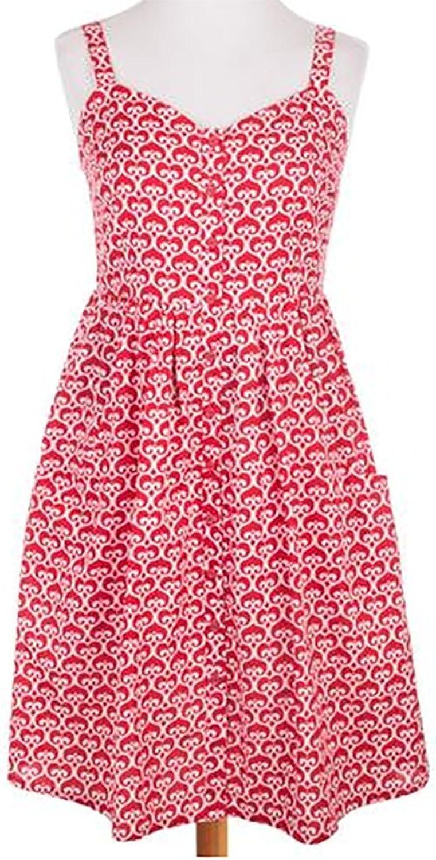 Garden District Dress in Red Size XL