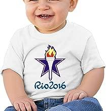 Kim Lennon Rio Torch 2016 Custom Girl Short-sleeve T-shirt Black
