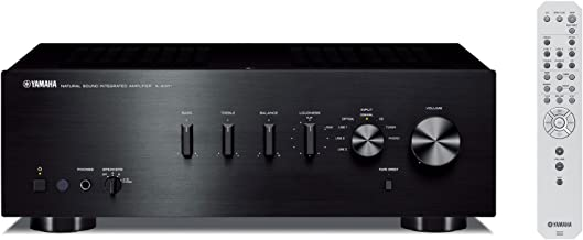 Yamaha A-S301BL Natural Sound Integrated Stereo Amplifier (Black)