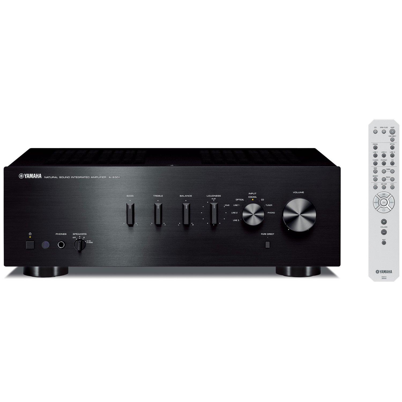 Yamaha S301BL Natural Integrated Amplifier