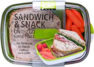MSC International 60042 Joie Sandwich and Snack Container, Assorted Colors