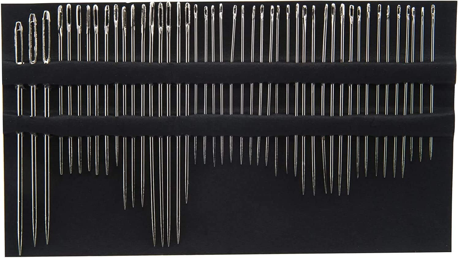 Embroidery Darners 45-Count 2 Pack Betweens Chenille SINGER 01125 Assorted Hand Needles Assorted Sizes Sharps /& Tapestry