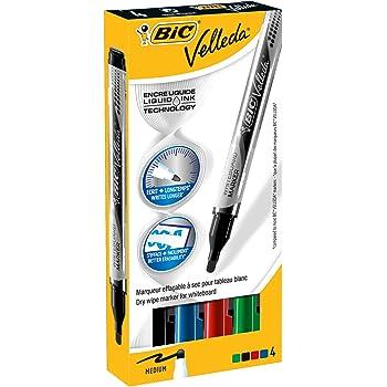 BIC Kids Mini Velleda rotuladores Pizarra Blanca punta fina ...